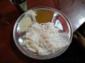 Neeru dose-tenginakaayi chutney-sambar